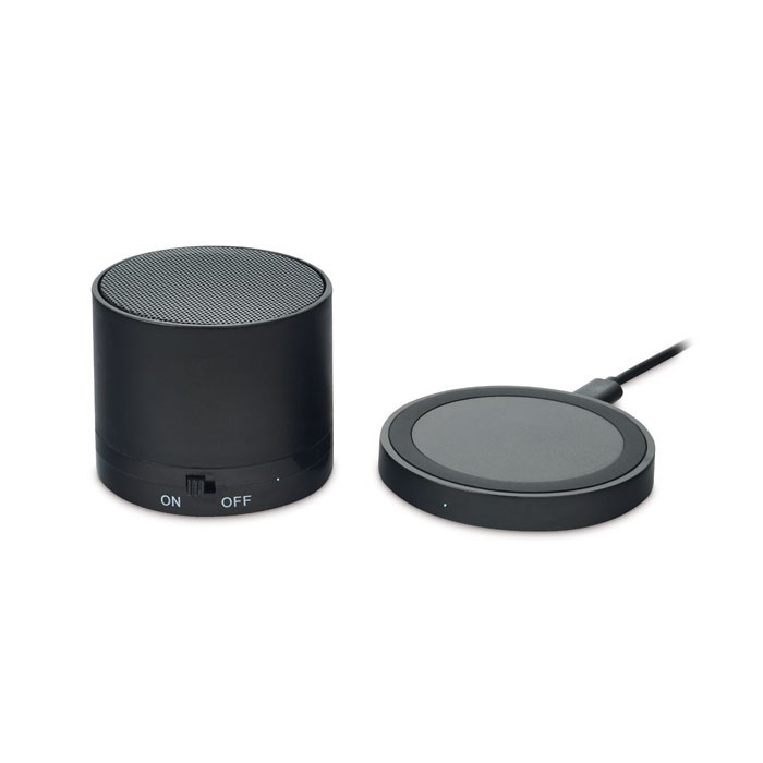 ROUND LESS - WIRELESS CHARGEABLE BT SPEAKER