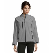ROXY WOMEN'S SOFTSHELL ZIPPED JACKET