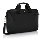 "Sac À Ordinateur Portable 15"" Swiss Peak, Noir"