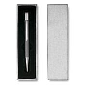 SILVER - Brushed ballpen and giftbox