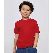 SOLS IMPERIAL KIDS ROUND COLLAR T-SHIRT