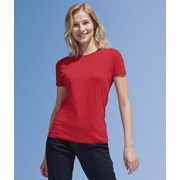 SOLS IMPERIAL WOMAN ROUND COLLAR T-SHIRT