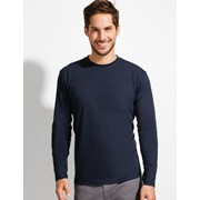 SOLS MONARCH MEN ROUND COLLAR LONG SLEEVE T-SHIRT