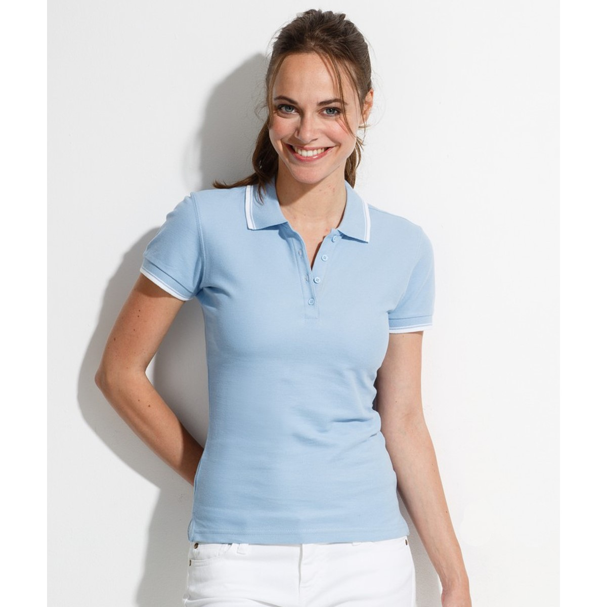 Purchase Long Sleeve Womens Polo Shirts F7a02 Dfae2