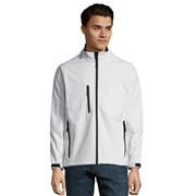 SOLS RELAX MEN SOFTSHELL ZIPPED JACKET