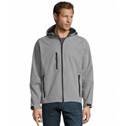 SOLS REPLAY MENS HOODED SOFTSHELL