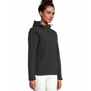 SOLS REPLAY WOMEN WOMENS HOODED SOFTSHELL