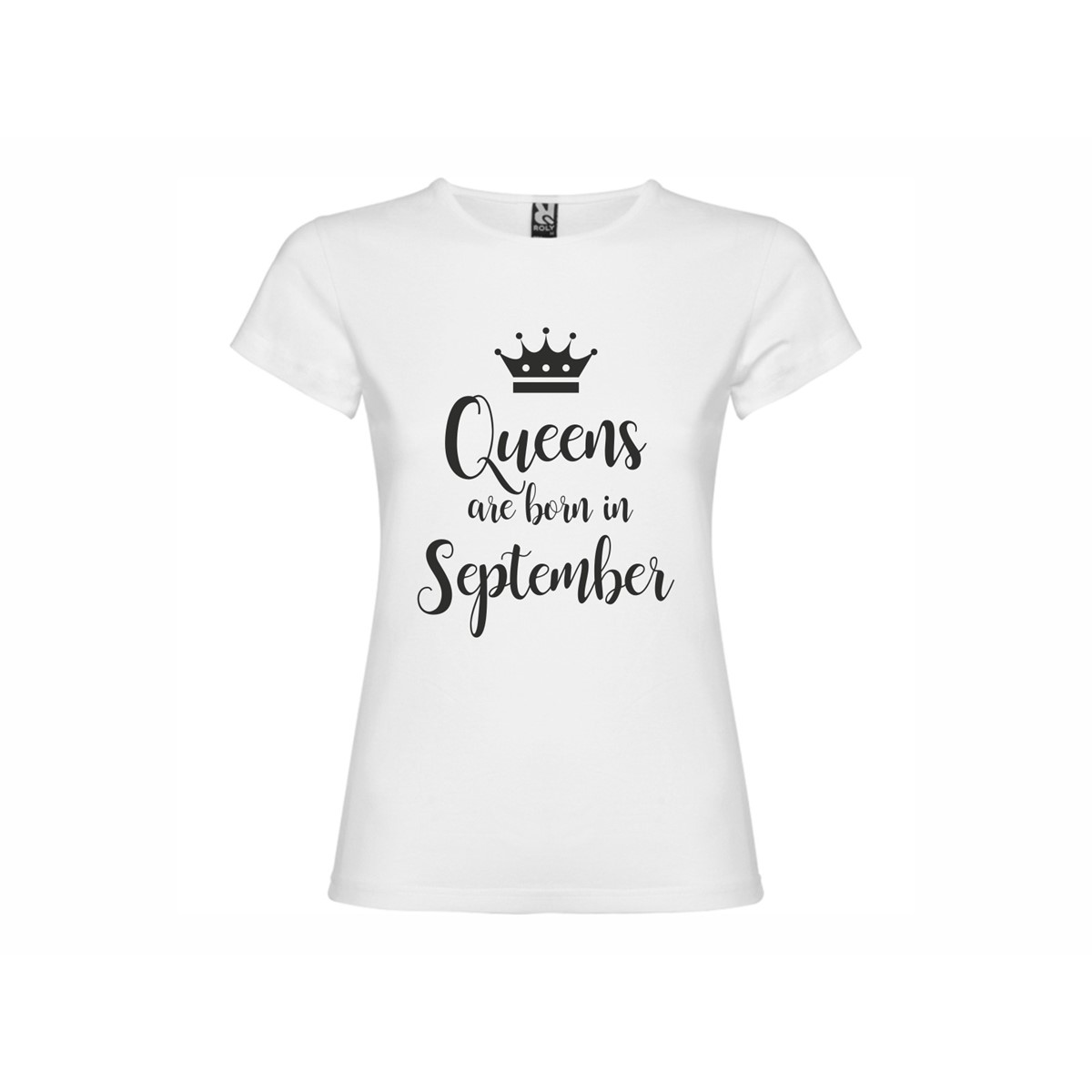 601480e7a Woman T-shirt Queens born September