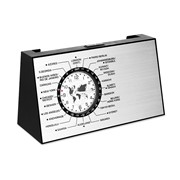 SPINNING - Spinning World time clock with