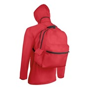 SURPRISE BAG - Raincoat and backpack