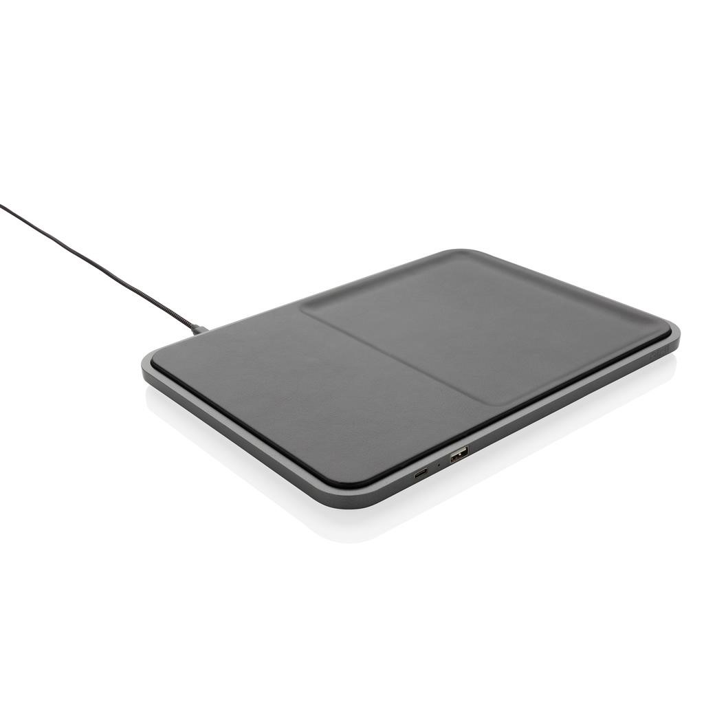SWISS PEAK LUXURY 5W WIRELESS CHARGING TRAY