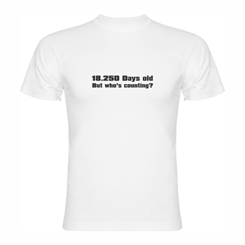 T-shirt 18.250 days old
