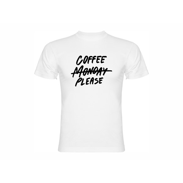 T shirt Coffee please