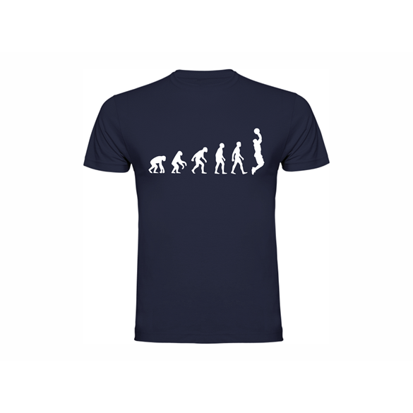 T shirt Evolution of Basketball