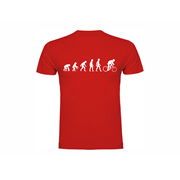 T shirt Evolution of Cycling