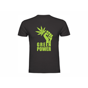 T shirt Green Power
