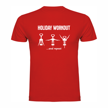 T-shirt Holiday Workout