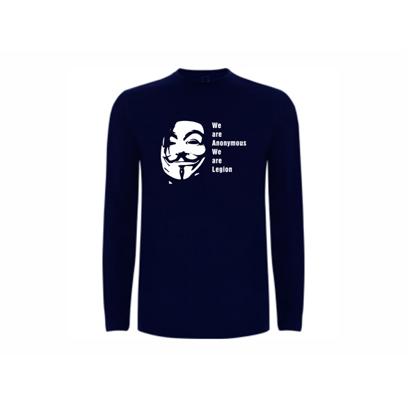 T shirt LS Anonymous