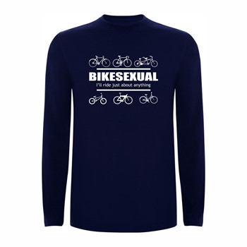 T shirt LS Bikesexual