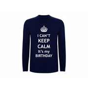 T shirt LS Calm Birthday