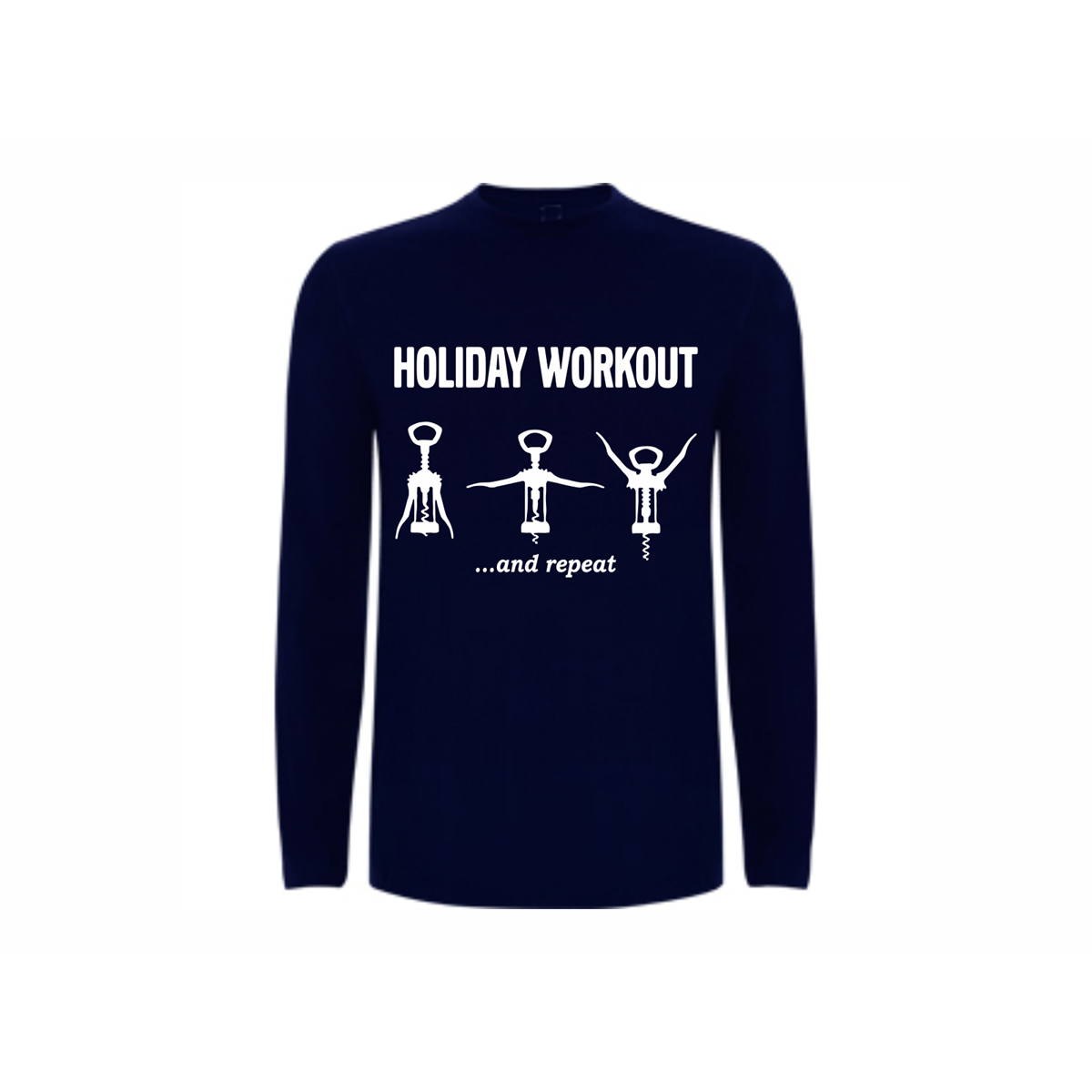 T shirt ls holiday workout for Design your own workout shirt