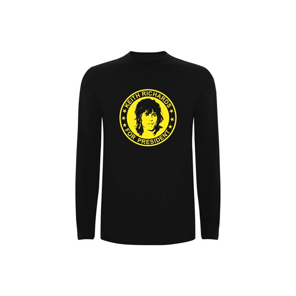 T Shirt Ls Keith Richards