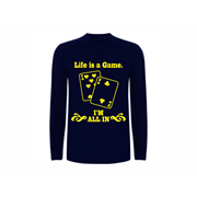 T shirt LS Life is a game