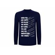T shirt LS Lyrics