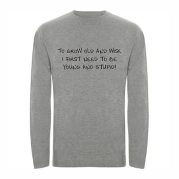 T-shirt LS Old and Wise