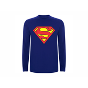 T shirt LS Superman