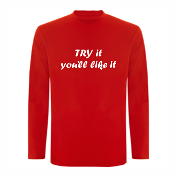 T-shirt LS Try it