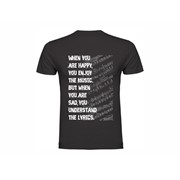 T shirt Lyrics
