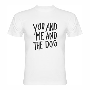 T shirt Me and the dog