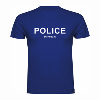 "T shirt ""POLICE"""