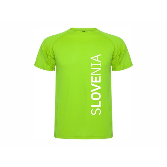 T shirt Slovenia vertical