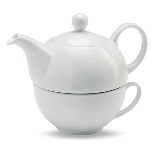 TEA TIME - Teapot and cup set