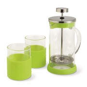 TEMPS - 350ml coffeepot with 2 glasses