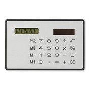 THINNY - Solar slim card calculator
