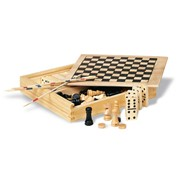 TRIKES - 4 games in wooden box