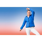 Warmloft down-touch Womens jacket Acadia