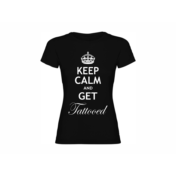 Woman T-shirt Calm Tattooed