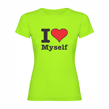 Woman T-shirt I love myself