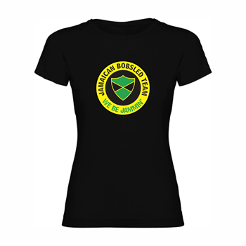 Woman T shirt Jamaican bobsled team