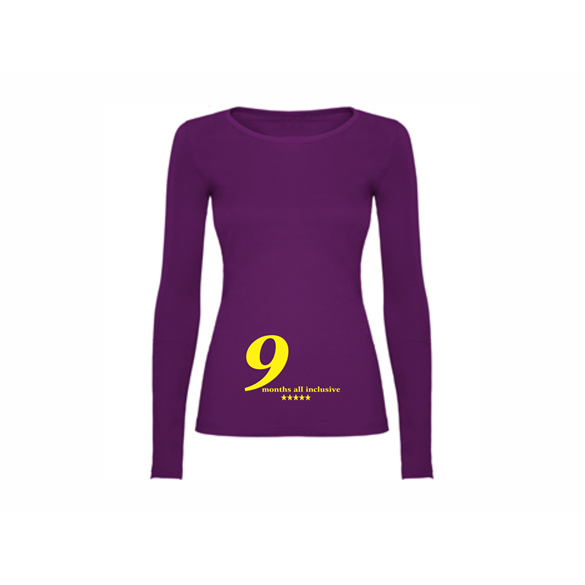 Woman T shirt LS 9 months all inclusive