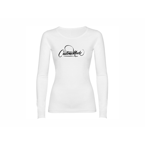 Woman T shirt LS Custom Made