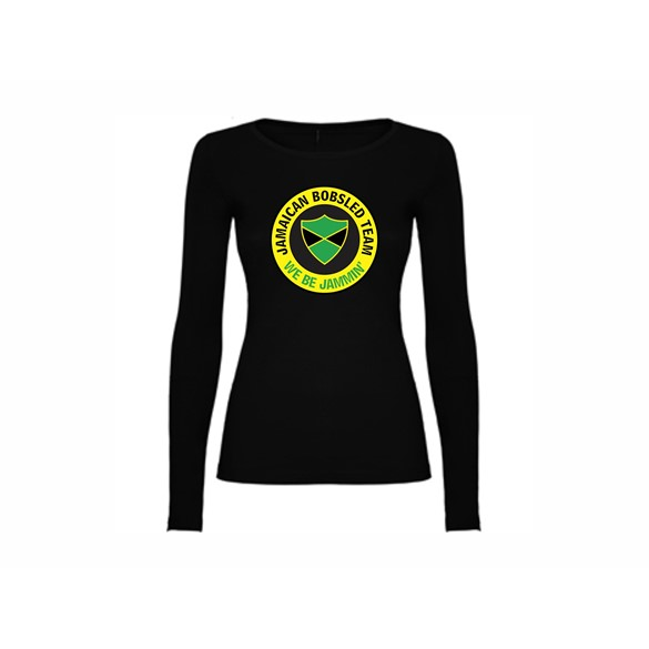 Woman T shirt LS Jamaican bobsled team
