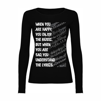 Woman T shirt LS Lyrics