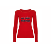 Woman T shirt LS Rock and Roll