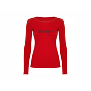 Woman T-shirt LS Skip Intro
