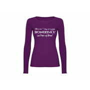 Woman T-shirt LS Someday